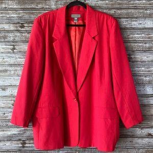 Vintage Made in USA Liz Baker Blazer Size 24